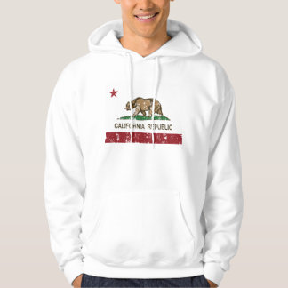 California Republic Flag Lake Arrowhead Hoodie