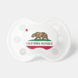 California Republic Flag Pacifier