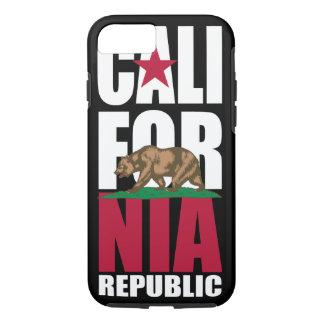 California Republic Flag Stacker iPhone 7 Case