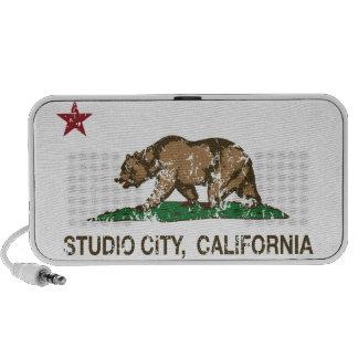 California Republic Flag Studio City Travel Speaker