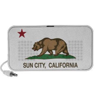 California Republic Flag Sun City PC Speakers