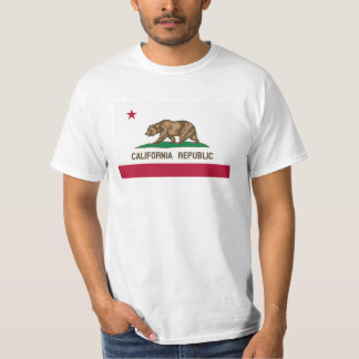 California Republic flag t shirts