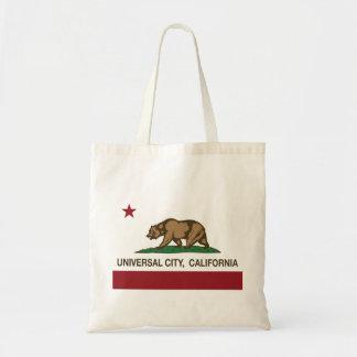 California Republic Flag Universal City Budget Tote Bag