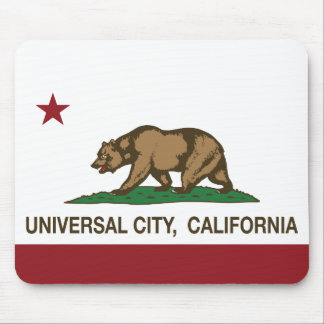 California Republic Flag Universal City Mouse Pad