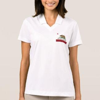 California Republic Flag Van Nuys Polo Shirt