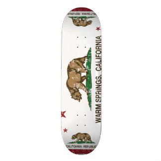 California Republic Flag Warm Springs Skate Board