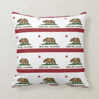 California Republic Flag Westlake Pillows