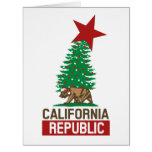 California Republic for the Holidays Big Greeting Card