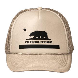 California Republic Mesh Hats