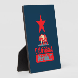 California Republic in Urban Hope Style Display Plaques