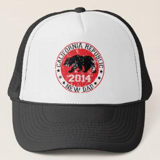 california republic new dad 2014 trucker hat
