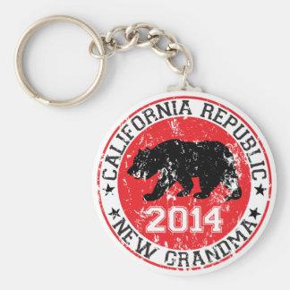 california republic new grandma 2014 key chain