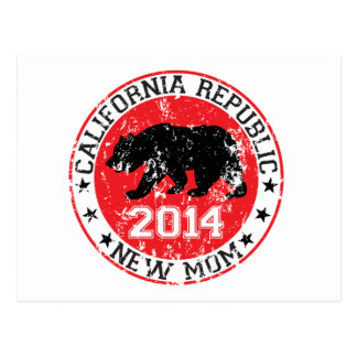 California Republic new mom 2014 Postcard
