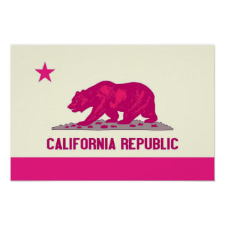California Republic Poster