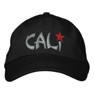 California Republic STAR Embroidery Embroidered Baseball Caps