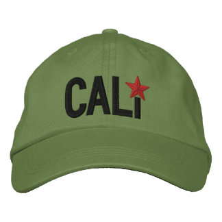 California Republic STAR Embroidery Embroidered Cap