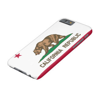 California Republic State Flag Barely There iPhone 6 Case