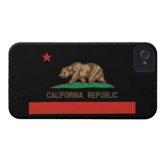 California Republic State Flag iPhone 4 Case