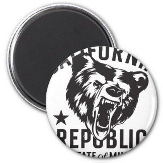 California Republic State of Mind Magnet