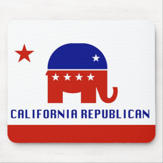 California Republican Mouse Pad