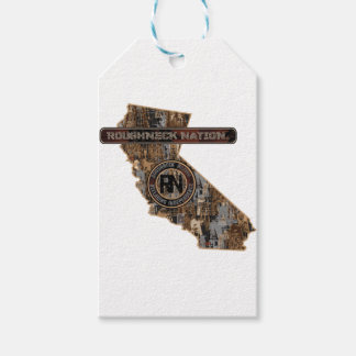 CALIFORNIA Rig Up Camo Gift Tags