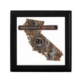 CALIFORNIA Rig Up Camo Small Square Gift Box