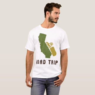 California Road Trip RV Camper Trailer T-Shirt