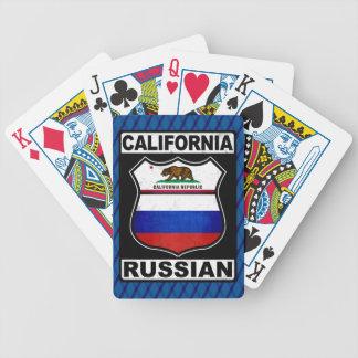 California Russian American Card Deck