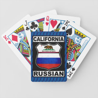 California Russian American Card Deck Poker Deck