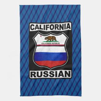 California Russian American Tea Towels