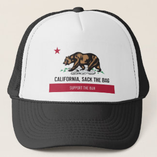California, Sack the Bag Trucker Hat