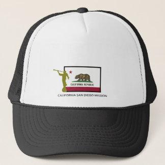 CALIFORNIA SAN DIEGO MISSION LDS CTR TRUCKER HAT