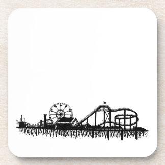 California Santa Monica CA Pier Beach Ferris Wheel Coaster
