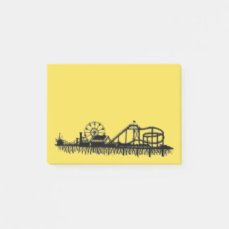 California Santa Monica CA Pier Beach Ferris Wheel Post-it Notes