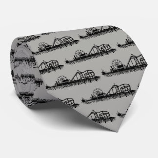California Santa Monica CA Pier Beach Ferris Wheel Tie
