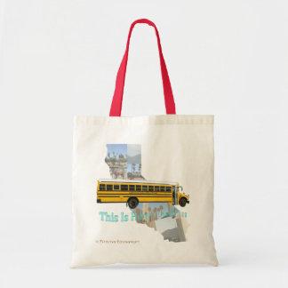 California School Bus Driver Tote Bag