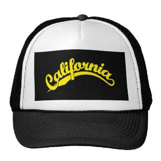 California Script logo in Yellow Hats