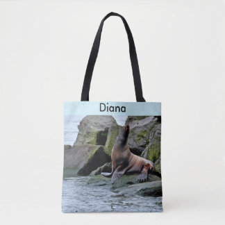 California Sea Lion Tote Bag