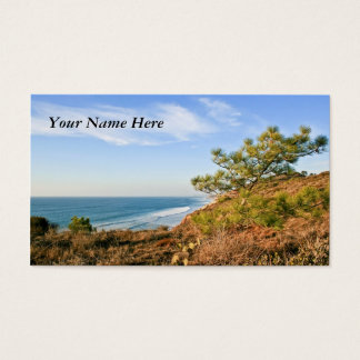 California Seascape Business Card
