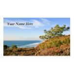California Seascape Business Card Templates