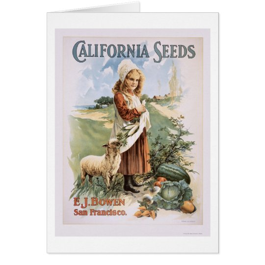 California Seeds Card