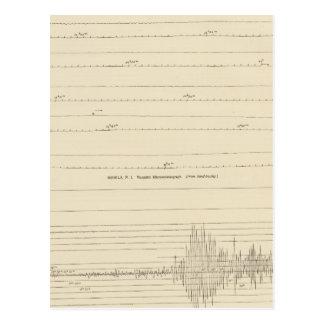 California Seismograms 4 Postcard