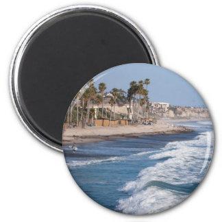 California Shore Fridge Magnet