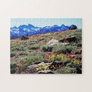 California, Sierra Nevada Mountains 1 Jigsaw Puzzle