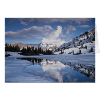 California, Sierra Nevada Mountains, Dana Peak Card