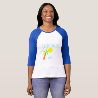 California Single Girl surfing style tee