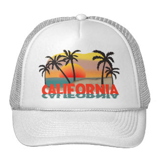 California Souvenir Mesh Hats
