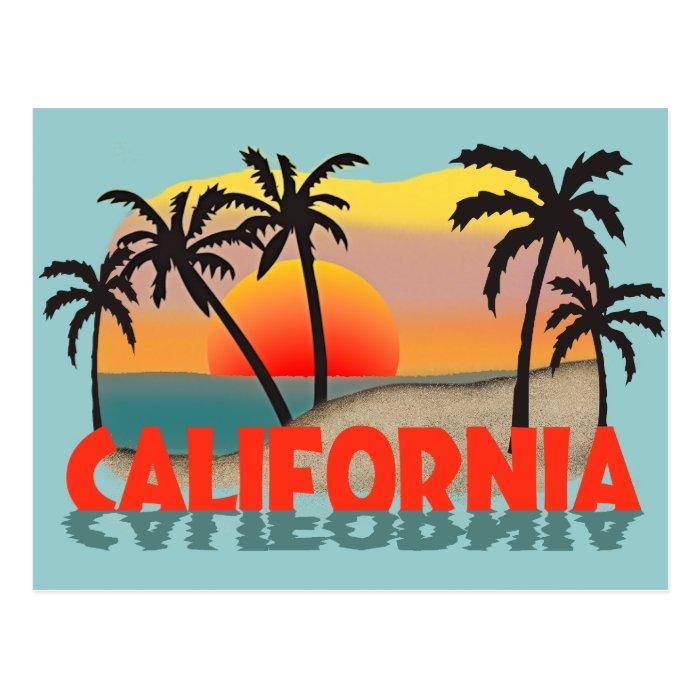 California Souvenir Postcard