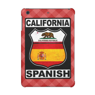 California Spanish American Custom iPad Case