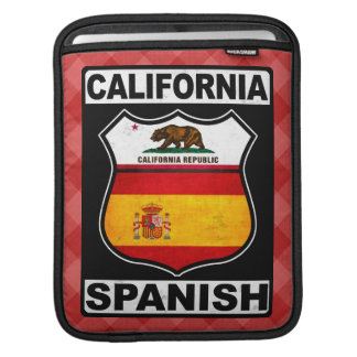 California Spanish American iPad Cover